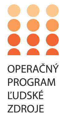 Logo - Operačný program Ľudské zdroje