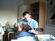 Ja hrám na gitarke